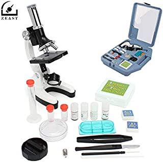 Professional Microscope Set Portable 28 Piece Educational Kit 100x 400x and 900x Gift, Children Folding Chairs - Travel Club, Kids Toys, Children Chess, Childs Folding Chair, Drum Kit