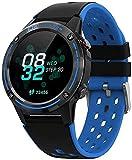 Smart Watch 1 3 Zoll 360mAh Bluetooth Anruf Outdoor Smart Watch Multi-Sport Funktion Blau
