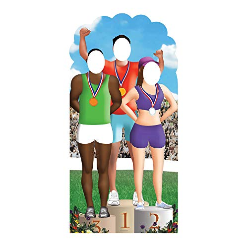 STAR CUTOUTS - Stsc362 - Figurine Géante Passe-Tête - Jeux Internationaux 195 Cm