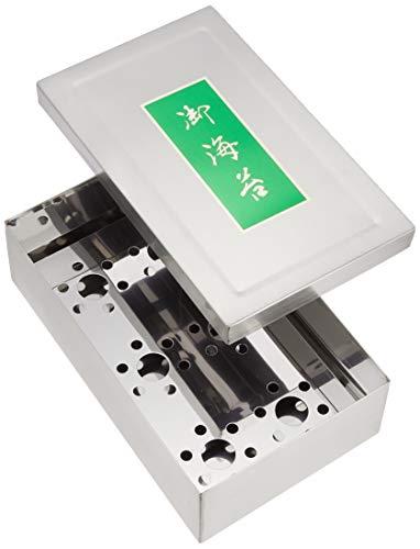 遠藤商事 業務用 のり缶 小(5束入) ステンレス 日本製 BNL01003