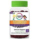 Rainbow Light Counter Attack Immune Support Elderberry Gummies for Kids with Elderberry, Vitamins C, D and Zinc, Gluten Free, 30 Gummies*