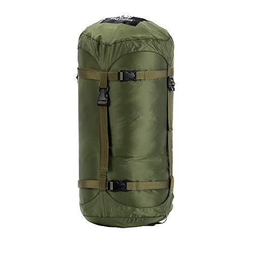 OneTigris 25L 寝袋用スタッフサック 収納袋 コンプレッションバッグ キャンプ アウトドア (グリーン―25L)