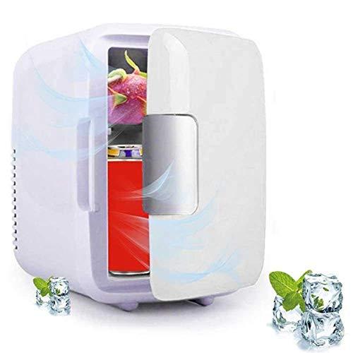 Tivivose DC 12V 4L Refrigeradores para automóviles Mini frigorífico portátil Ultras silencioso Congelador con congelador de bajo Ruido y refrigerador más cálido al Aire Libre