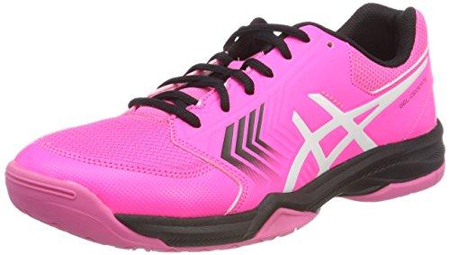 Asics Gel-Dedicate 5, Zapatillas de Tenis Mujer, Rosa (Hot Pinkblackwhite 2090), 44.5 EU