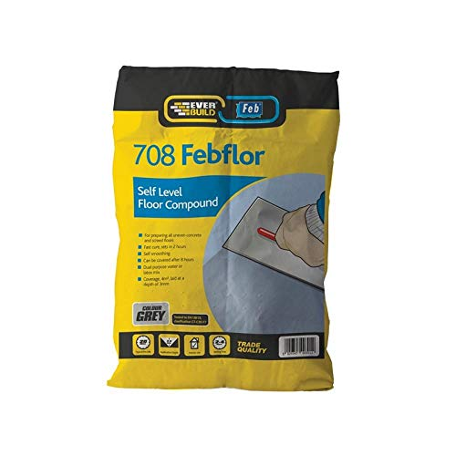 Everbuild SELF20 708 - Autolivellante rapido a base di cemento, 20 kg