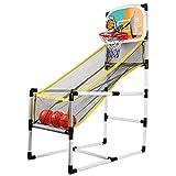 ampusanal Baloncesto Hoo, Máquina De Baloncesto Baloncesto Portátil Hoop Arcade Juego para Todo El Juego Familiar feasible