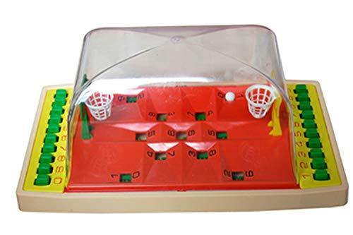 CAPRILO Juguete Decorativo Infantil Juego BASQUET PLASTICO  . Juguetes y Juegos de Colección. Regalos Originales para Navidad, Reyes y Cumpleaños. Decoración Clásica.