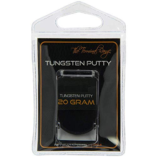 g8ds® Tungsten Putty Knetblei 20g schwarz Angeln Karpfen Rig Pop Up Wafter Boilie