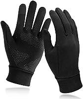 Unigear Guanti Invernali, Guanti Interni Sportivi Touchscreen Caldo Antiscivolo Sportivo per Uomo Donna, Idea per Corsa,...