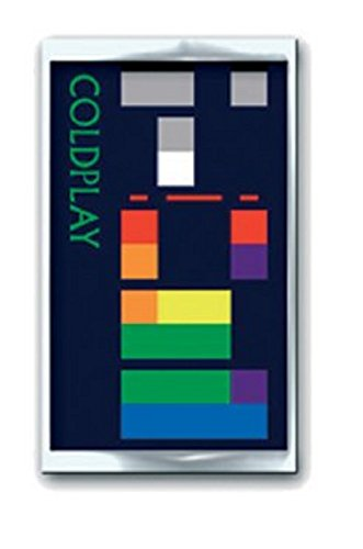 Coldplay - Pin X&Y Album pin badge (in )