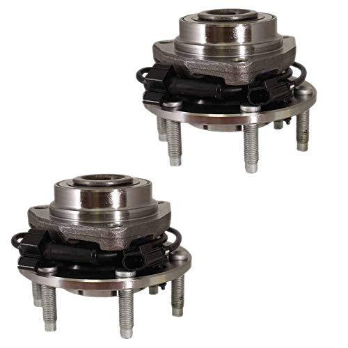 HU513188 x2 Front Wheel Bearing Hub Assembly (Set of 2 pcs) For 2004~2007 Rainier, 2003~2006 SSR, 2002~2009 Trailblazer, 2002~2009 Envoy, 2003~2008 Ascender, 2002~2004 Bravada, 2005~2009 9-7x