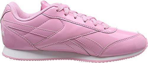 Reebok Damen Royal Cljog 2 Fitnessschuhe, Mehrfarbig (Ptnt/Light Pink/Whit 0), 37 EU