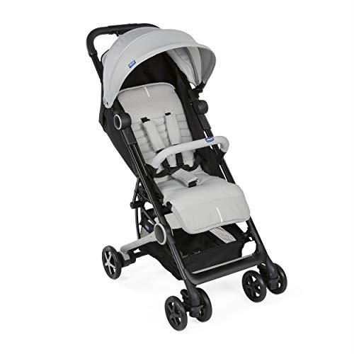 Chicco Miinimo 3 - Silla de paseo ultra compacta y ligera, solo 6 kg, color gris (Light Grey)
