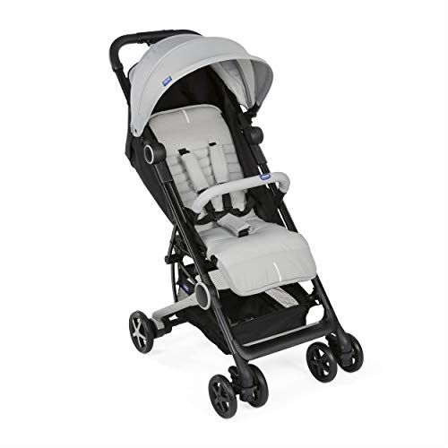 Chicco Miinimo 3 - Silla de paseo ultra compacta y ligera, solo 6 kg, color gris (Light Grey)