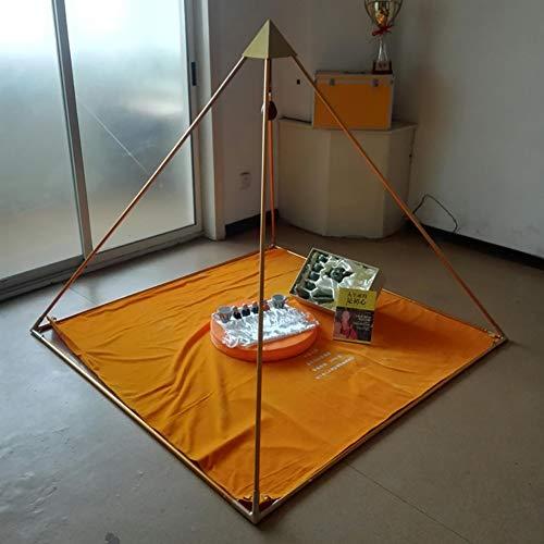 Vollverkleidete 6-Fuß Copper Duty Meditationspyramide zur Selbstheilung und Aktivierung des Herzchakras