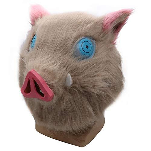 Máscara de Cerdo Fantasma de Felpa máscara de extinción d