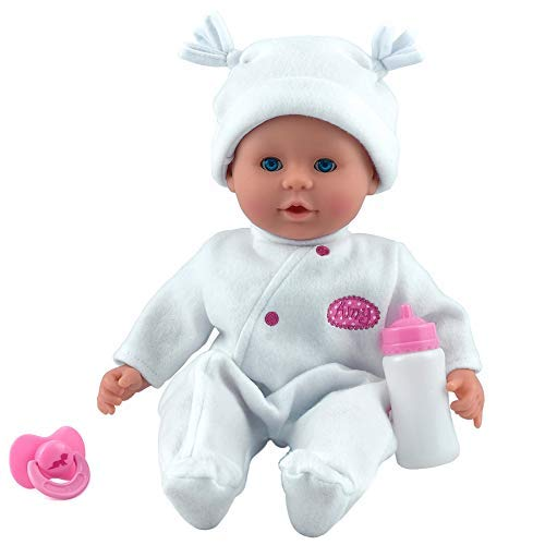 Dolls World 8101 Little Treasure (White), Nylon/A