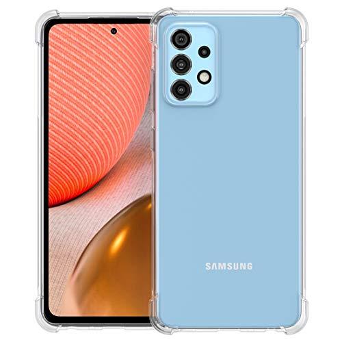 Foluu Schutzhülle für Samsung Galaxy A72, ultradünn, weich, flexibel, transparent, Silikonhülle, TPU für Galaxy A72 5G