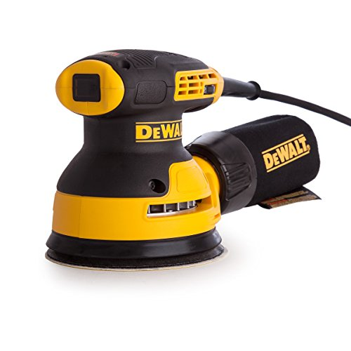DEWALT DEWDWE6423 Eccentric sander, yellow   black