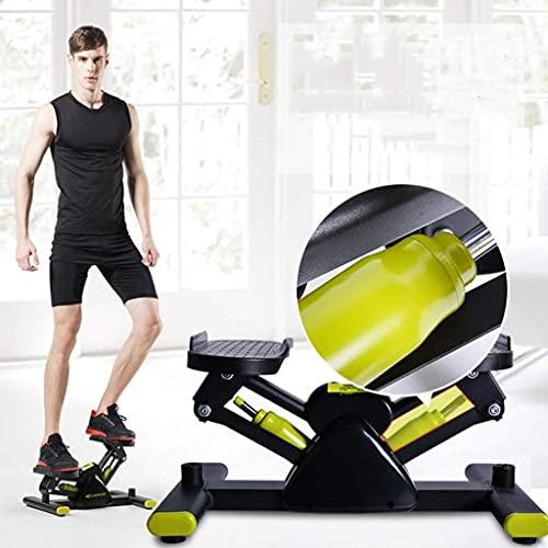 PAKUES-QO Twist Stepper Indoor Fitness Ejercicio Stepper Stepper Machine Stepping Legs para El Hogar (Color: Amarillo)