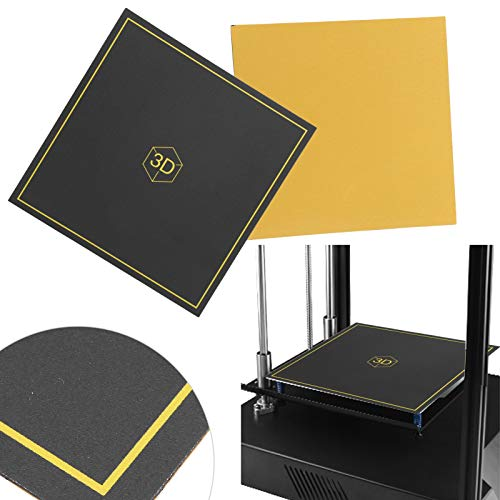 Composite Magnetic Material, Heat Printing Platform Sticker, Hot Bed Sticker, Reusable for Home School Office 3D Printer