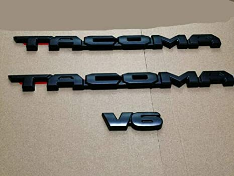 larson grearryFit FOR 2016-2020 TAC Blackout Emblem Overlays ABS Plastic PT948-35180-02 Branded silver