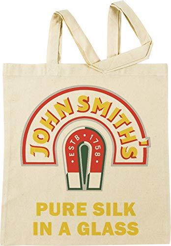 Vendax John Smith Pure Silk Glass Beer Beige Einkaufstasche