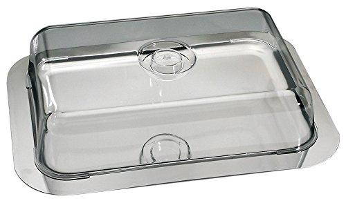 Schlemmerplatte/Tortenplatte/Kuchenplatte inkl. Frischhaltehaube | Gr. 42 cm x 31 cm