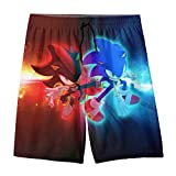 HOCLOCE Youth Swim Trunks Quick Dry Kid Board Shorts Boys Bathing Suits L(14-16)