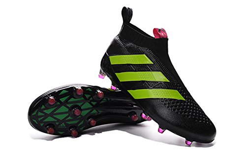 zhromgyay Schuhe Herren Ace 16purecontrol Fußball Fußball Stiefel, Herren, schwarz