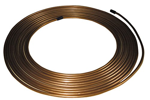 Pearl pbpn08freno Tubo Tubería de cobre, 25FT, 7,6m, 1/4x 22estándar de alambre de calibre