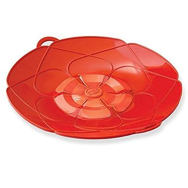Kuhn Rikon Kochblume Spill Stopper, 11-Inch, Red