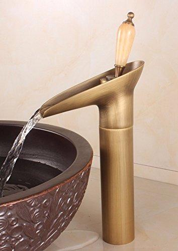 LSRHT wastafelarmatuur waterkraan badkamer wastafel mixer retro koperen bekken klik op koude enkele boring Tb -01-4 B