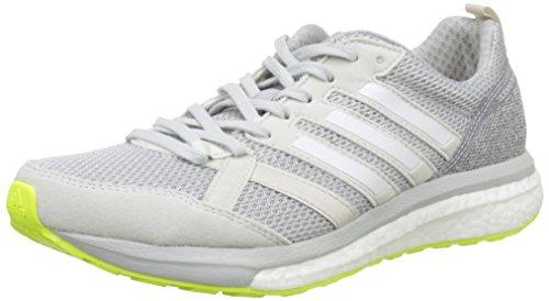adidas Adizero Tempo 9 W, Zapatillas de Running para Mujer, Gris (Griuno/Ftwbla/Gridos), 38 2/3 EU