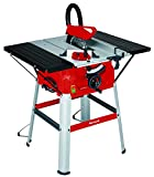 Einhell Table de sciage TC-TS 2025 U (2000 W, 24 dents, Hauteur de travail : 830 mm, Piètement,...