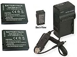 TWO Batteries BP-DC10-E BP-DC10-U + Charger for Leica D-LUX 5 E, Leica D-LUX5E, Leica DLUX5E