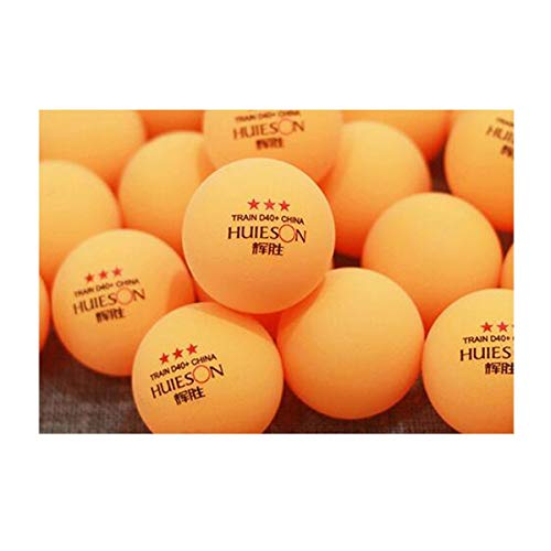 Buy Samuknight Table Tennis Balls, 3 Stars New Material 40+ Professional Training Ball Table Tennis ...