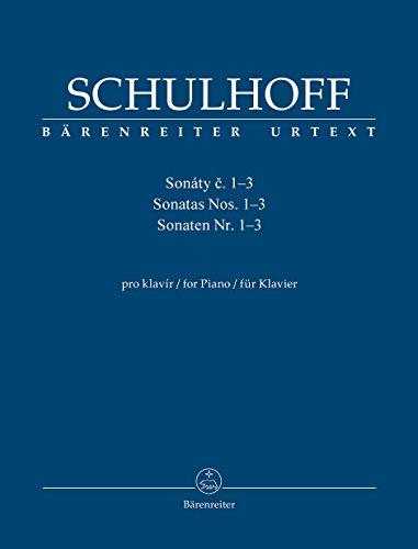 Price comparison product image Schulhoff: Piano Sonatas,  Nos. 1-3