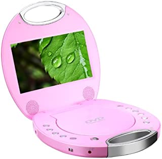 Sylvania SDVD7046 7-Inch Portable DVD Player with Integrated Handle (Pink)