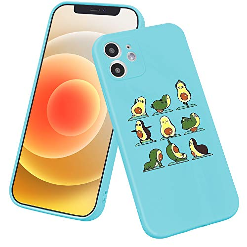 LuGeKe Avocado Yoga Phone Case for iPhone XR, Funny Avocado Patterned Case Cover,Soft TPU Cover Flexible Ultra Slim Anti-Stratch Bumper Protective Boys Phonecase(Yoga Avocado) 商品名称