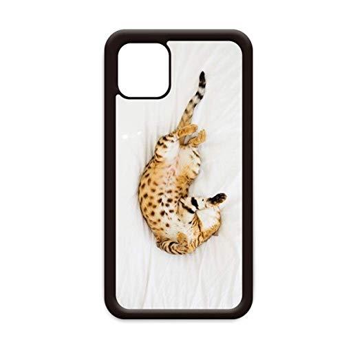 Animal Ocelot - Carcasa para iPhone 12, diseño de gato