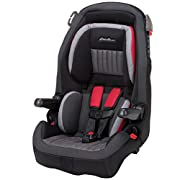 2 modes of use: Forward Facing 22-65 pounds and Belt-positioning booster 40-100 pounds Dimensions: 27.500 inches H x 19.000 inches W x 20.000 inches D Adjustable headrest. Side Impact Protection 5-position shoulder belt guides 5-point harness system ...