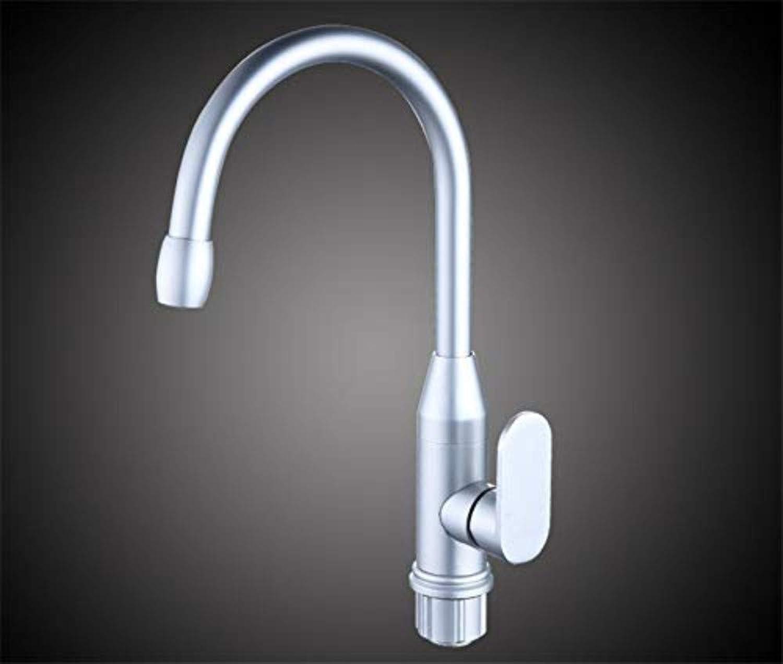 Wasserhahn Wasserhhne Raum Aluminium Küchenarmatur Heie Und Kalte Universal Waschbecken Mischventil Wasserhahn Rotierenden Anti-Spritzkopf A