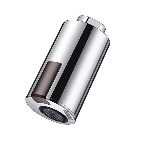 LTXDJ Grifo inteligente, sin contacto, adaptador con sensor de movimiento, ahorro de agua, grifo para baño, cocina, adecuado para 22 – 24 mm