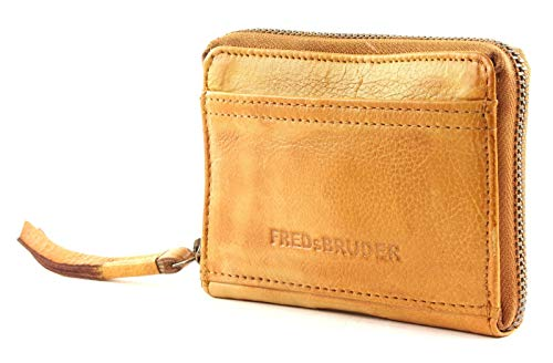 FREDsBRUDER Damen Portemonnaie Coin Nugget karamell One Size (XS-XL)