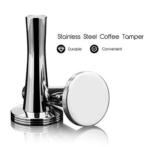 MG Coffee Stainless Steel Dolce Gusto Refillable Capsules Coffee Filters Reusable Coffee Pods Compatible for Dolce Gusto Mini Me Genio Piccolo Esperta Circo (Tamper for Dolce Gusto pods)