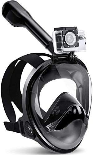 Zentouch Full Face Snorkel Mask with Latest Dry Top System and Safety Breathing System Foldable product image