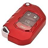 Red Soft TPU Flip Key Fob Cover Case Jacket...