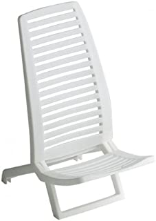 Alco 1-600 - Silla Playa Propileno Color Blanco Color 21