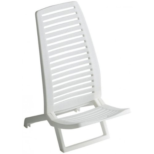 Alco 1-600 - Silla Playa Propileno Color Blanco Color 21
